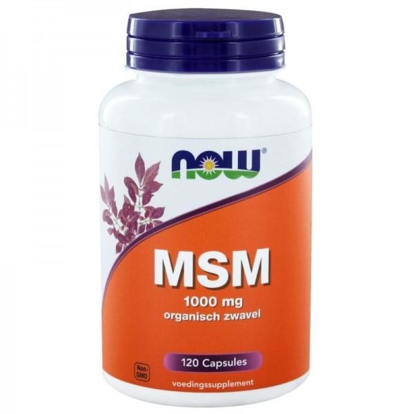 MSM 1000mg NOW 120cap
