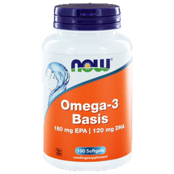 Omega 3 1000mg NOW 100soft