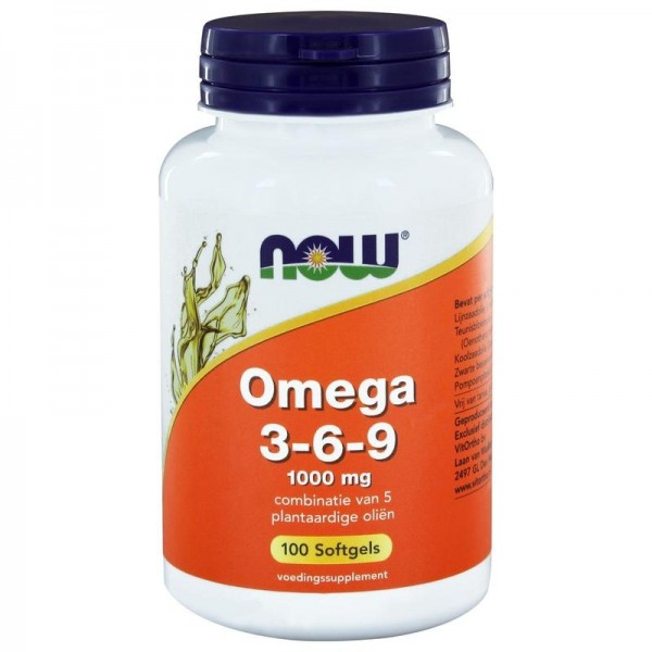 Omega 3-6-9 1000mg NOW 100sft