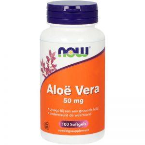 Aloe Vera 50mg NOW
