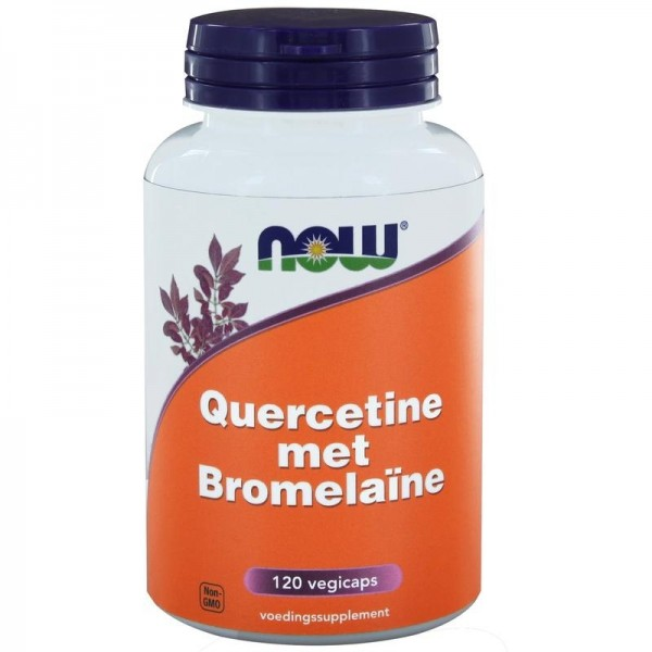 Quercetine met Bromelaine NOW 120vc