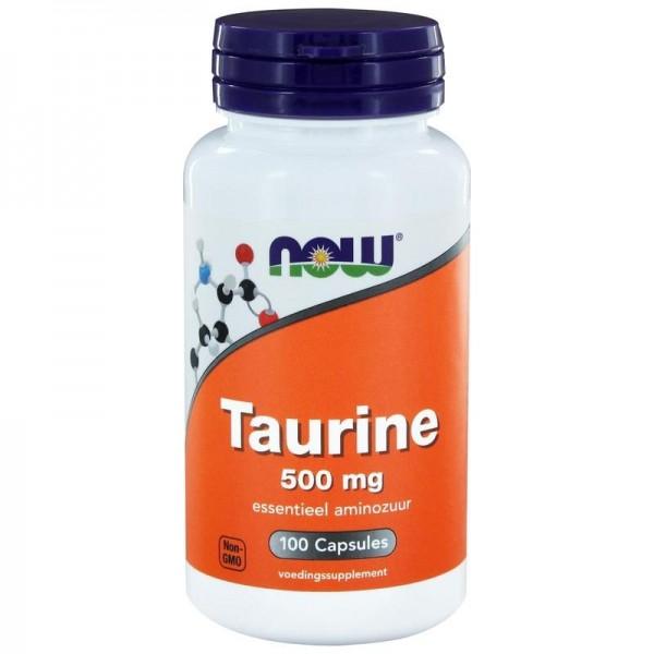 Taurine NOW 500mg 100cap