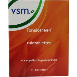 VSM Tonsiotreen Zuigtabletten