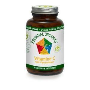 Vitamine C 1500mg Essential Organics 75tab-0