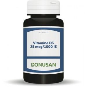 Vitamine D3 25mcg Bonusan