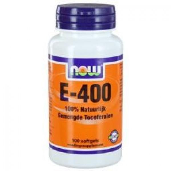 Vitamine E400 mixed NOW 100sft-0