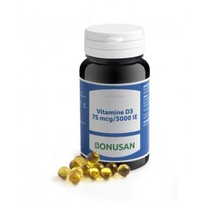 Bonusan Vitamine D3 75 mcg 3000IE 120sft