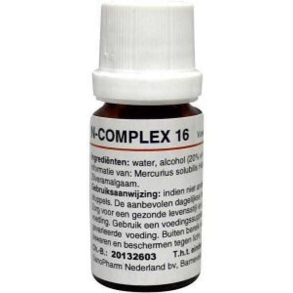 N Complex 16 mercurius sol