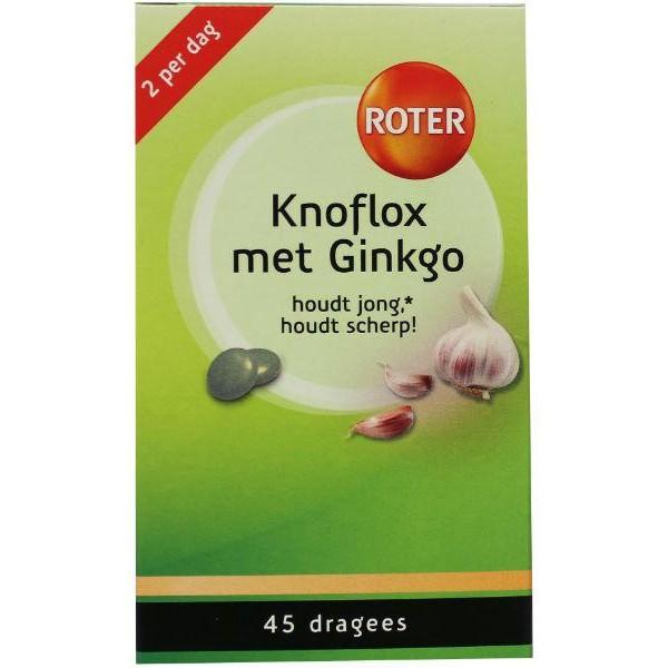 Knoflox met ginkgo