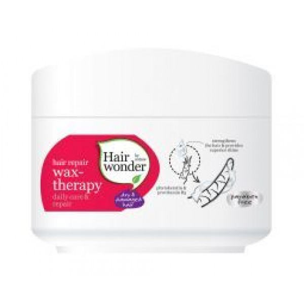 Hair repair wax therapy