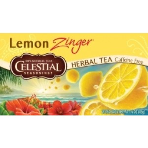 Lemon zinger herb tea