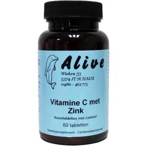Vitamine C & zink kauwbaar