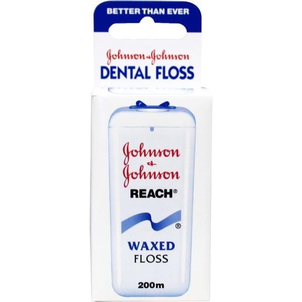 Dental reach floss waxed