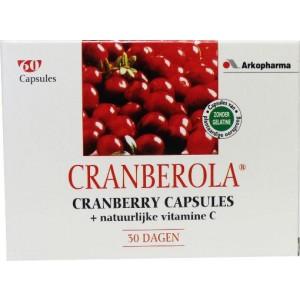 Cranberry & vitamine C Cranberola 60cap