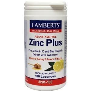 Zink (zinc) plus zuigtabletten lamberts