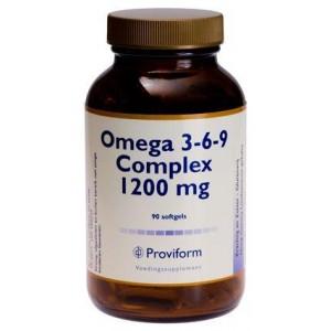 Omega 3-6-9 complex 1200mg Proviform