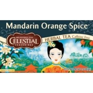 Mandarin orange spice herb tea