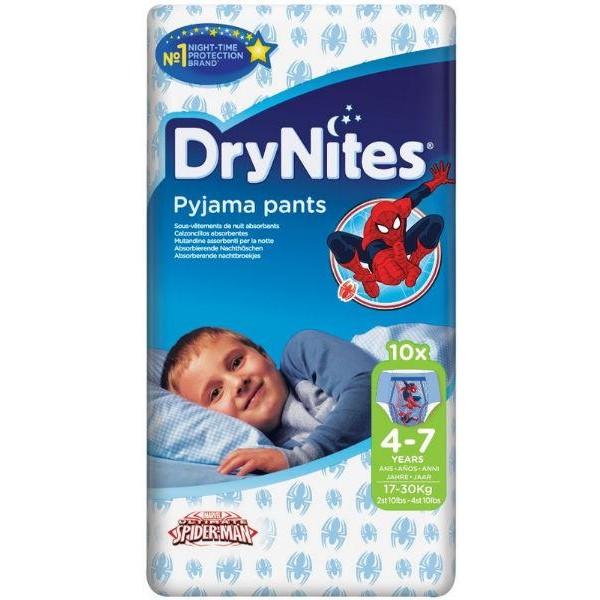 Drynites boy 4-7 jaar