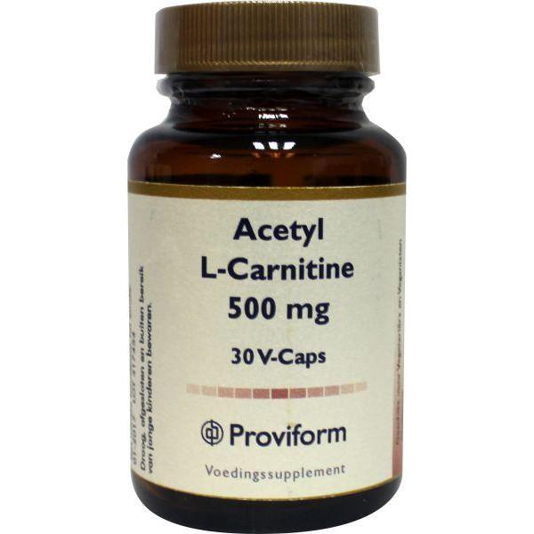 Acetyl L-carnitine 500 mg
