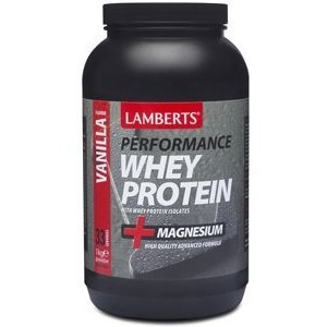 Whey protein vanilla Lamberts