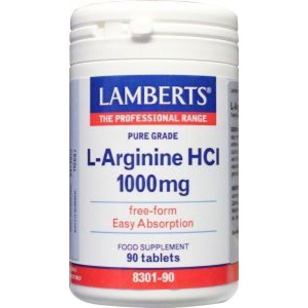 L-Arginine 1000 mg Lamberts