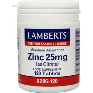 Zink (zink) citraat 25 mg