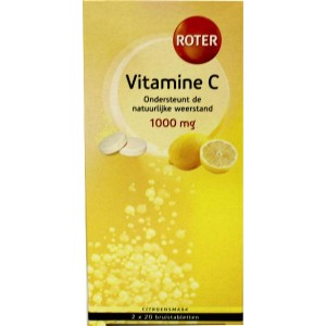 Vitamine C 1000mg citroen duo