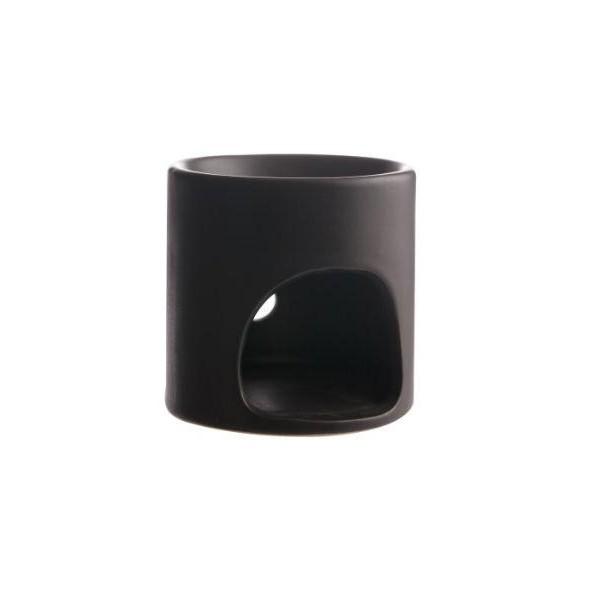 Aromalampje zwart rond