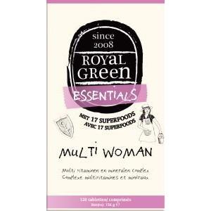 Multi woman Royal Green