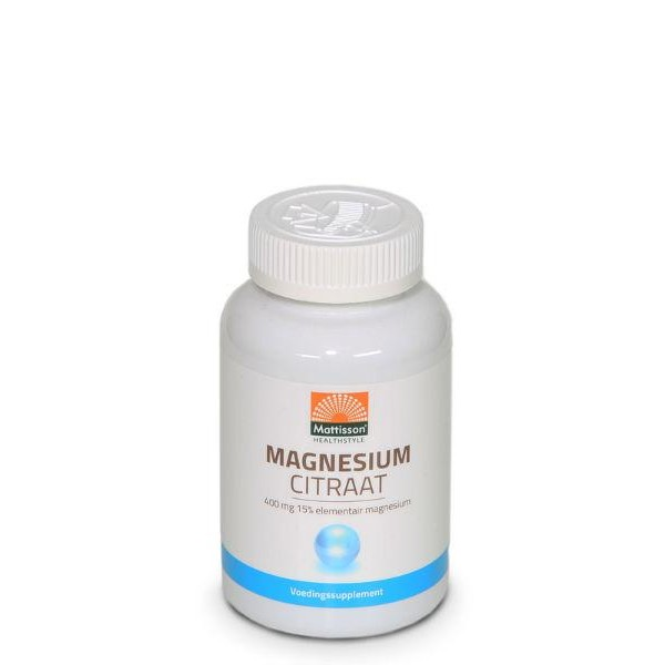 Active magnesium citraat 400 mg