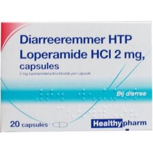 Loperamide 2 mg diarreeremmer