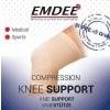 Elastische ondersteuning knie huidkleur maat L