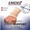 Elastische ondersteuning pols huidkleur maat M