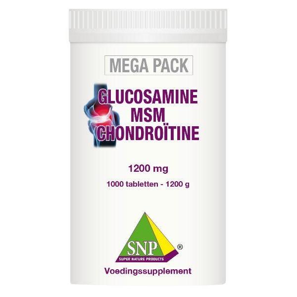 Glucosamine MSM chondroitine megapack