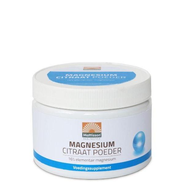 Magnesium citraat poeder 16%