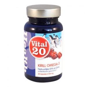 Krill omega 3 500 mg MSC