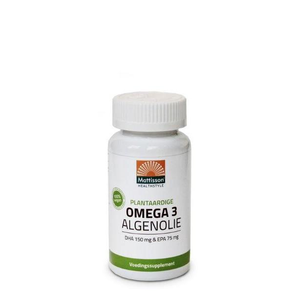 Omega 3 algenolie DHA150/EPA75