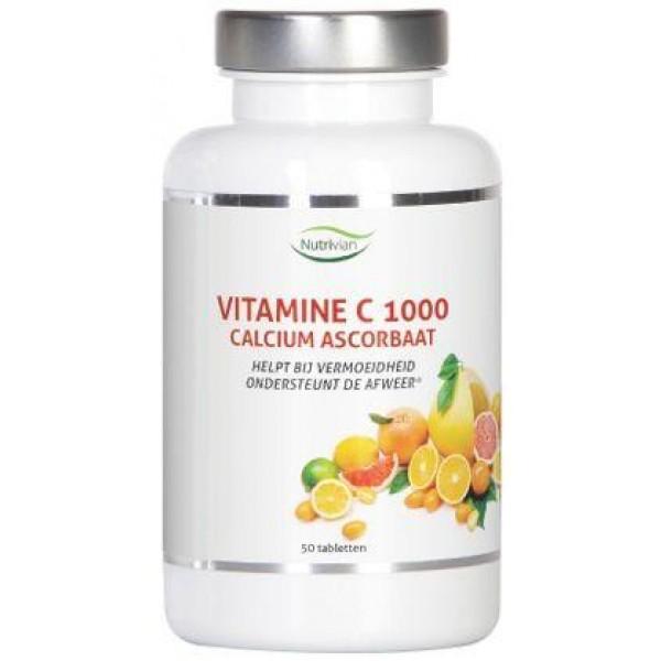 Vitamine C1000 mg calcium ascorbaat