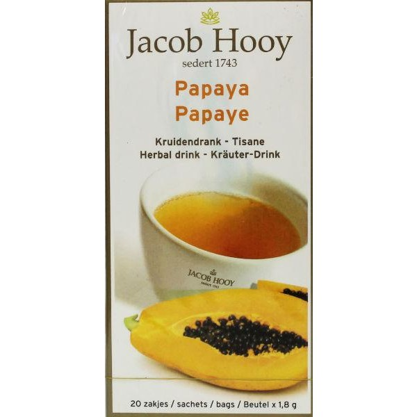 Papaya theezakjes gold