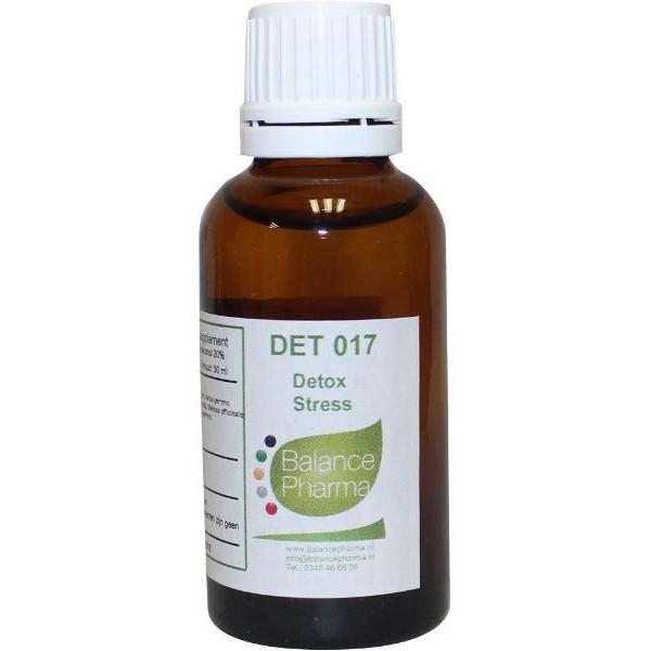 DET017 Stress Detox Balance Pharma 30ml