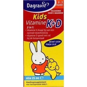 Vitamine K+D druppels