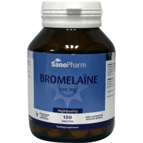 Bromelaine 100mg Sanopharm 120tab