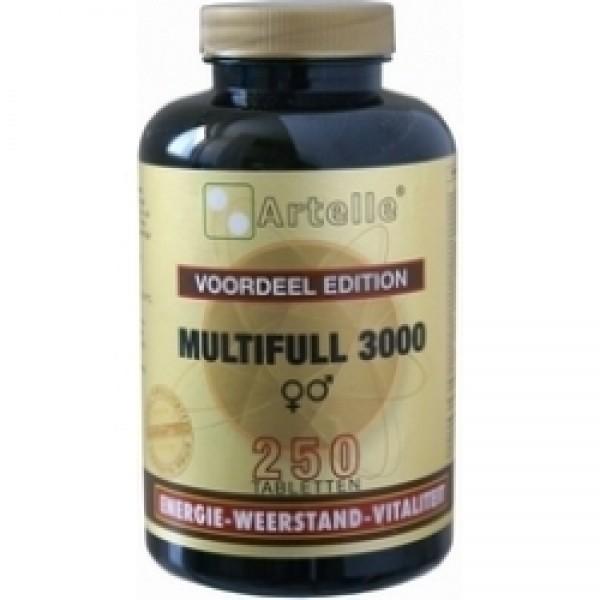 Multifull 3000 Artelle 250tab