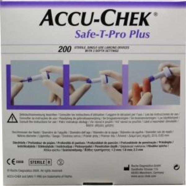Safe T-pro plus lancetten