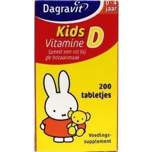 Vitamine D tablet kids