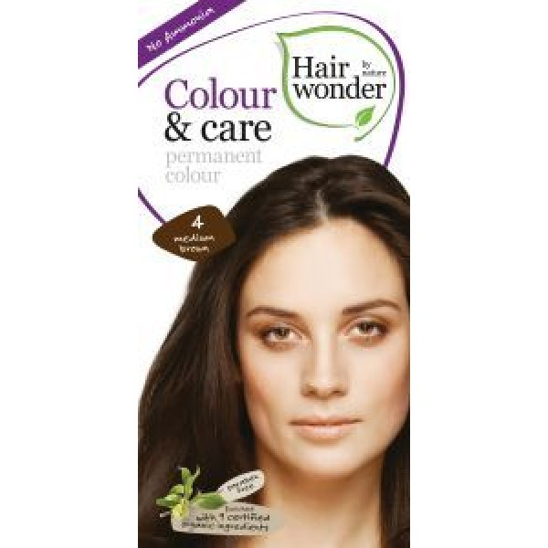 Colour and care 4 medium brown
