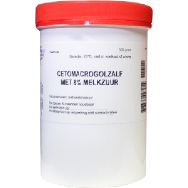 Cetomacrogol zalf 8% melkzuur