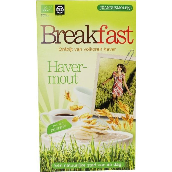 Breakfast havermout ontbijt