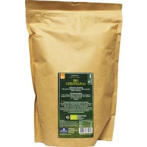 Bio gemalen gerstegras paper bag