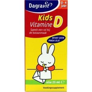 Kids vitamine D druppels oliebasis